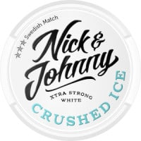 Nick & Johnny Crushed Ice White Xtra Strong Snus Portion