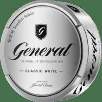 general snus classic white