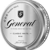 General Classic White Mini Portion Snus