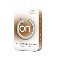 On! Coffee 3Mg All White Nicotine Pouches
