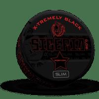 Siberia Black Extremely Strong Slim Portion Snus