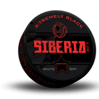 Siberia Black Extremely Strong White Dry Portion