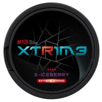Xtrime X Iceberry Extreme Strong Nicotine Pouches