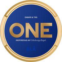 ONE BLÅ (Blue) White Portion Snus