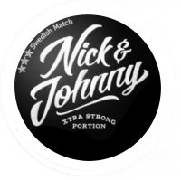 Nick & Johnny Crushed Ice Xtra Strong Snus Portion